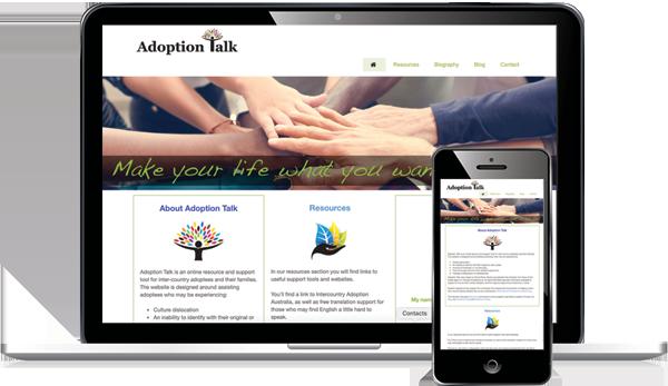 Adoption Talk Website